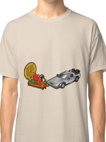 Zeitmaschinenschaden - crash in the fourth dimension Classic T-Shirt