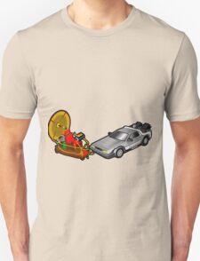 Zeitmaschinenschaden - crash in the fourth dimension Unisex T-Shirt