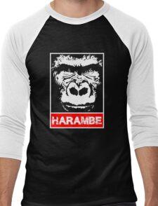 Remember Harambe Men's Baseball ¾ T-Shirt