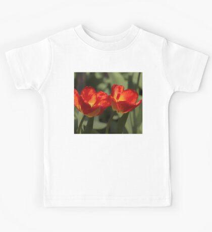 Fiery Tulips Kids Tee
