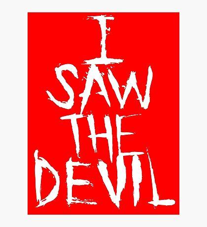 I SAW THE DEVIL Photographic Print