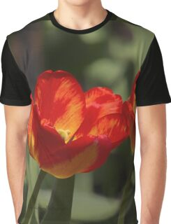 Fiery Tulips Graphic T-Shirt