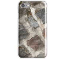 Large Natural Stones Mortared iPhone Case/Skin