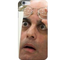 hanging chad iPhone Case/Skin
