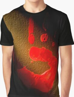 Red Print Graphic T-Shirt