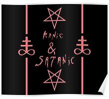 Manic & Satanic (Red) Poster