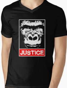 Justice For Harambe Mens V-Neck T-Shirt