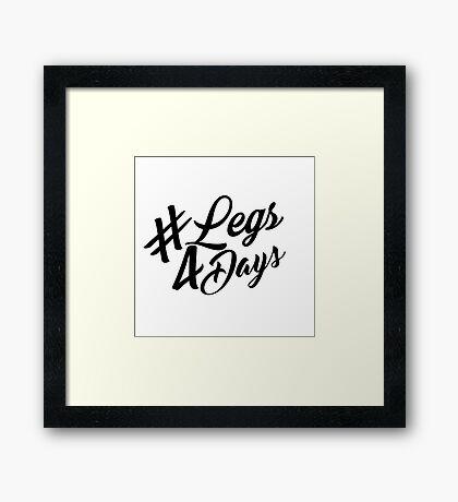 Naomi Smalls - Legs 4 Days Framed Print