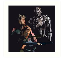 Targeted For Termination Art Print