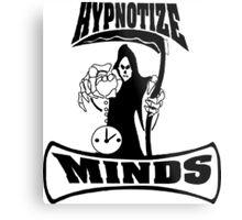 Hypnotize Mind Logo Tee Metal Print
