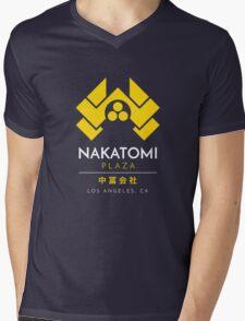 Nakatomi Plaza T-Shirt Mens V-Neck T-Shirt