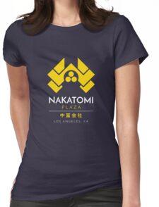 Nakatomi Plaza T-Shirt Womens Fitted T-Shirt