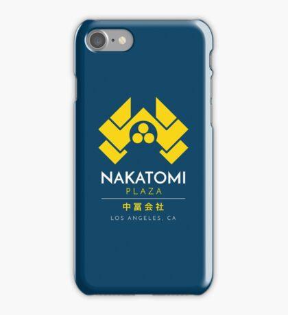 Nakatomi Plaza T-Shirt iPhone Case/Skin