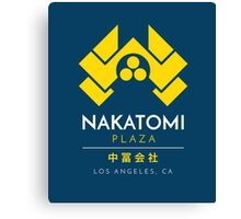 Nakatomi Plaza T-Shirt Canvas Print