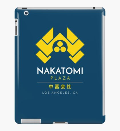 Nakatomi Plaza T-Shirt iPad Case/Skin