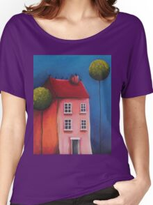 The Pink House Women's Relaxed Fit T-Shirt