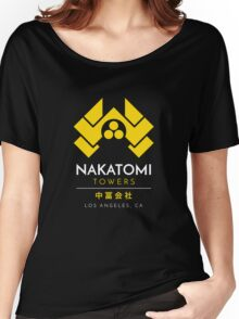 Nakatomi Towers T-Shirt Women's Relaxed Fit T-Shirt