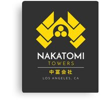 Nakatomi Towers T-Shirt Canvas Print