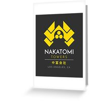 Nakatomi Towers T-Shirt Greeting Card