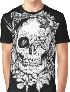 floral skull 1 Graphic T-Shirt