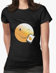 emotion phone Womens Fitted T-Shirt