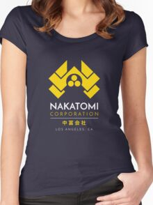 Nakatomi Corporation T-Shirt Women's Fitted Scoop T-Shirt