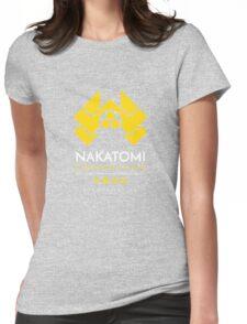Nakatomi Corporation T-Shirt Womens Fitted T-Shirt