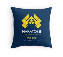Nakatomi Corporation T-Shirt Throw Pillow