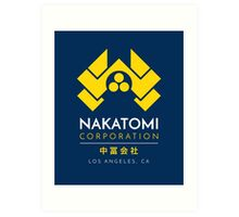Nakatomi Corporation T-Shirt Art Print