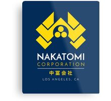 Nakatomi Corporation T-Shirt Metal Print