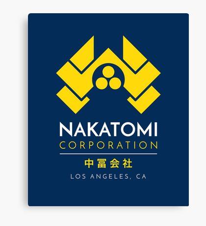 Nakatomi Corporation T-Shirt Canvas Print