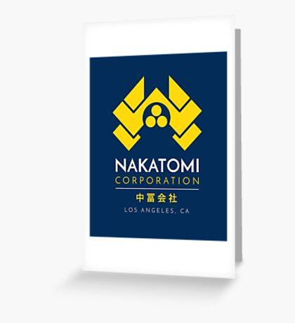 Nakatomi Corporation T-Shirt Greeting Card