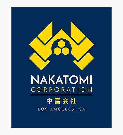 Nakatomi Corporation T-Shirt Photographic Print