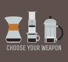 Choose Your Weapon by peace-ter