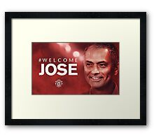 HOT ITEM WELCOME JOSE MOURINHO - 01 Framed Print