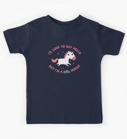 I'm A Little Horse Kids Tee