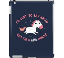 I'm A Little Horse iPad Case/Skin