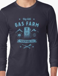 Big Ed's Gas Farm Long Sleeve T-Shirt