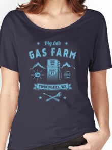 Big Ed's Gas Farm Women's Relaxed Fit T-Shirt