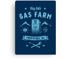 Big Ed's Gas Farm Canvas Print