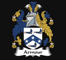 Armour Coat of Arms / Armour Family Crest One Piece - Short Sleeve