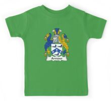 Armour Coat of Arms / Armour Family Crest Kids Tee