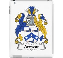 Armour Coat of Arms / Armour Family Crest iPad Case/Skin