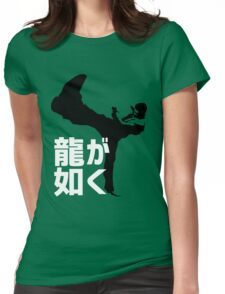 Like A Dragon Womens Fitted T-Shirt