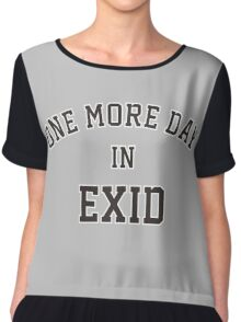 one more day in exid Chiffon Top