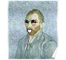Van Gogh, Self Portrait, 1889, Kawaii Poster