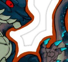 Abyssal Lagiacrus Sticker