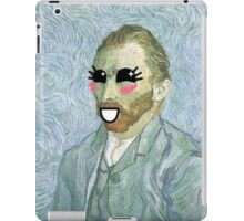 Van Gogh, Self Portrait, 1889, Kawaii iPad Case/Skin
