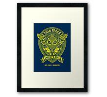 Sheriff's Department Framed Print