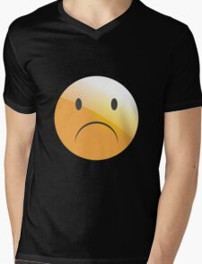 emotion sad Mens V-Neck T-Shirt